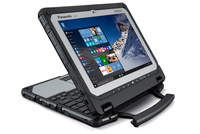 "Panasonic Toughbook CF-20 1.1GHz m5-6Y57 10.1"" 1920 x 1200pixels Touchscreen 4G Black,Silver"