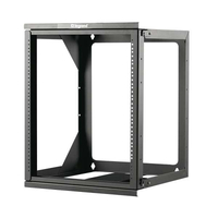 C2G 14618 Wall mounted rack 34kg Black rack