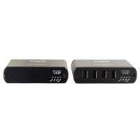 C2G 34020 USB 2.0 480Mbit/s Black interface hub