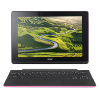 "Acer Aspire Switch 10 E SW3-016-1275 1.44GHz x5-Z8300 10.1"" 1280 x 800pixels Touchscreen Black,Pink Hybrid (2-in-1)"