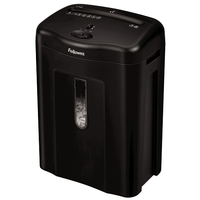 Fellowes Powershred 11C Cross shredding 72dB Black Paper Shredder