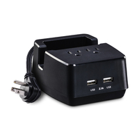 CyberPower PS205U Indoor Black mobile device charger