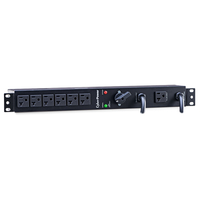 CyberPower MBP20A6 6AC outlet(s) 1U Black power distribution unit (PDU)