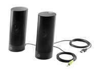 HP USB Business Speakers v2 2W Black loudspeaker