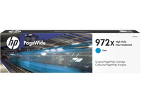 HP 972X 85.5ml 7000pages Cyan ink cartridge