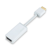 Acer NP.CAB1A.001 HDMI VGA White cable interface/gender adapter