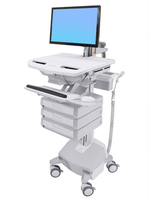 Ergotron StyleView Flat panel Multimedia cart Grey,White