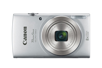 "Canon PowerShot ELPH 180 Compact camera 20MP 1/2.3"" CCD 5152 x 3864pixels Silver"
