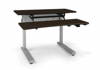 Ergotron Elevate Adjusta 60 Chocolate computer desk