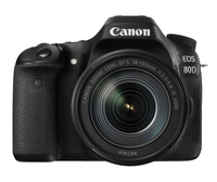 Canon EOS 80D + EF-S 18-135 IS USM SLR Camera Kit 24.2MP CMOS 6000 x 4000pixels Black
