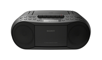 Sony CFD-S70 3.4W Black CD radio