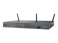 Cisco 886VA Fast Ethernet Black wireless router