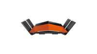 D-Link AC1750 EXO Dual-band (2.4 GHz / 5 GHz) Gigabit Ethernet Black,Orange wireless router