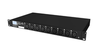 Vertiv MPHR2141 9AC outlet(s) 1U Black,Grey power distribution unit (PDU)