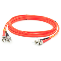 Add-On Computer Peripherals (ACP) ADD-ST-ST-25M6MMF 25m ST ST Orange fiber optic cable