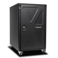 Kensington K64415NA Portable device management cabinet Black portable device management cart & cabinet