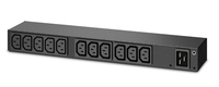 APC AP6020A 13AC outlet(s) 1U Black power distribution unit (PDU)