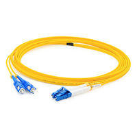 Add-On Computer Peripherals (ACP) ADD-ALC-SC-1M9SMF 1m LC SC Yellow fiber optic cable