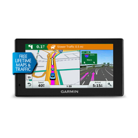 "Garmin DriveSmart 60LMT Fixed 6"" TFT Touchscreen 241g Black navigator"