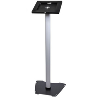 StarTech.com STNDTBLT1FS Tablet Multimedia stand Black,Silver multimedia cart/stand