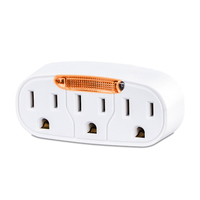 CyberPower GT300L NEMA 5-15P NEMA 5-15R White power plug adapter