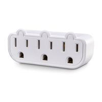 CyberPower GT300RC1 NEMA 5-15P NEMA 5-15R White power plug adapter
