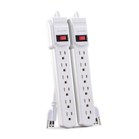 CyberPower MP1044NN Indoor 6AC outlet(s) 0.6m White power extension