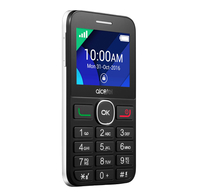 "Alcatel 20.08G 2.4"" 90g Zwart, Wit"
