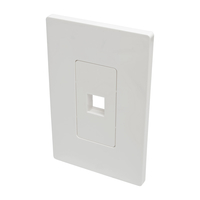 Tripp Lite N080-101 White switch plate/outlet cover