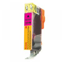 eReplacements CLI-221M-KD 510pages Magenta ink cartridge