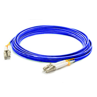 Add-On Computer Peripherals (ACP) ADD-LC-LC-1M5OM3-BLUE 1m LC LC Blue, Grey, White fiber optic cable