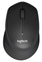 Logitech M330 SILENT PLUS RF Wireless Mechanical 1000DPI Right-hand Black mice