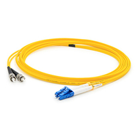 Add-On Computer Peripherals (ACP) ADD-ST-LC-40M9SMF 40m LC ST Yellow fiber optic cable