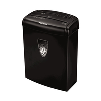 Fellowes 4684301 Cross shredding Black paper shredder