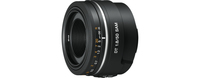 Sony SAL50F18 SLR Wide lens Black camera lense