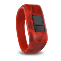 Garmin Lava Red activity tracker band