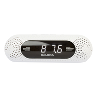 Salora CR626USB Digital alarm clock Wit wekker