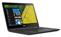 "Acer Spin SP513-51-51VX 2.50GHz i5-7200U 13.3"" 1920 x 1080pixels Touchscreen Black Hybrid (2-in-1)"