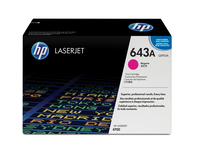 HP 643A Laser cartridge 10000pages Magenta