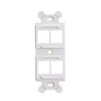 Panduit NK4106MFBL White switch plate/outlet cover