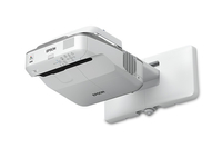Epson PowerLite 680 Wall-mounted projector 3500ANSI lumens 3LCD XGA (1024x768) Grey,White data projector