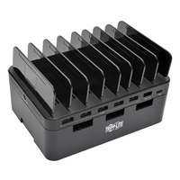 Tripp Lite U280-007-CQC-ST Desktop mounted Black charging station organizer