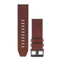Garmin QuickFit 22 Band Brown Leather