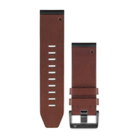 Garmin 010-12517-04 Leather Brown watch band