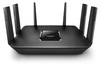Linksys EA9300 Tri-band (2.4 GHz / 5 GHz / 5 GHz) Black wireless router