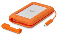 LaCie STFS1000401 1000GB Oranje, Wit externe solide-state drive