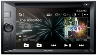 Sony XAV-W651BT Bluetooth Black car media receiver
