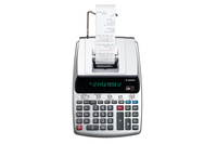 Canon MP11DX-2 Desktop Printing calculator Silver calculator