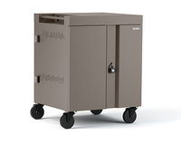Bretford CUBE Cart Portable device management cart Champagne