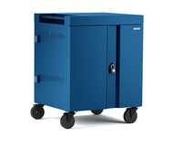 Bretford CUBE Cart Portable device management cart Blue